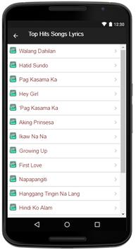 Gimme 5 Song Lyrics apk screenshot