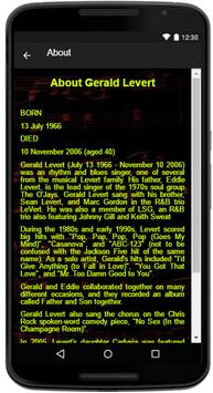 Gerald Levert Song Lyrics apk screenshot