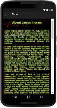 James Ingram Song Lyrics screenshot 4