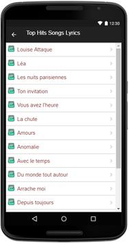 Louise attaque song lyrics apk download free entertainment app for louise attaque song lyrics apk screenshot stopboris Gallery
