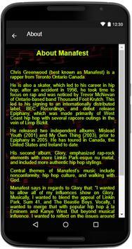 Manafest Song Lyrics screenshot 4