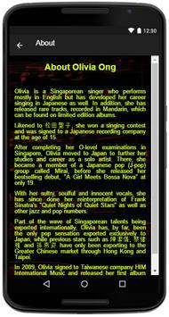 Olivia Ong Song Lyrics screenshot 4