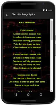 Ozuna Song Lyrics apk screenshot