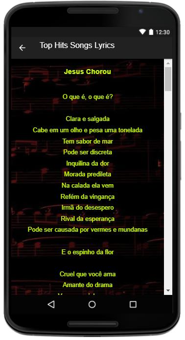 Racionais Mc S Song Lyrics For Android Apk Download
