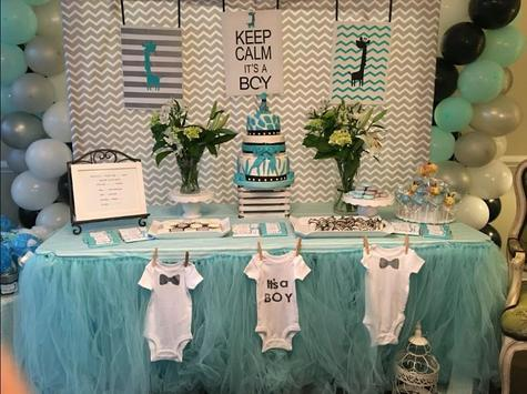 DIY Baby Shower decorations poster