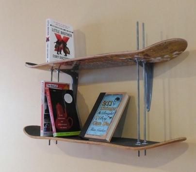 DIY Bookshelf Ideas screenshot 5