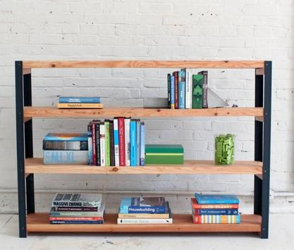 DIY Bookshelf Ideas poster