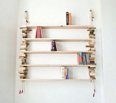 DIY Bookshelf Ideas screenshot 1