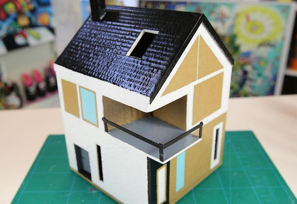 Diy Cardboard House Craft For Android Apk Download