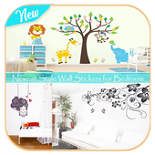 Newest Style Wall Stickers for Bedroom icon