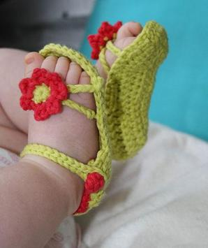 DIY Crochet Baby Slippers screenshot 1