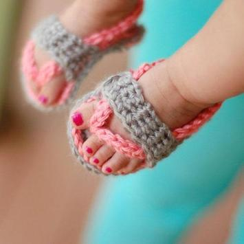 DIY Crochet Baby Slippers screenshot 2