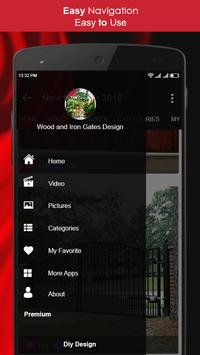Wood and Iron Gates Design screenshot 4