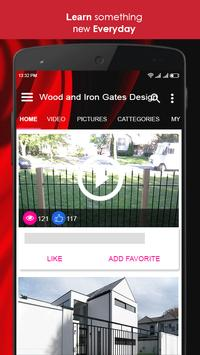 Wood and Iron Gates Design screenshot 5