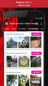 Wood and Iron Gates Design screenshot 1