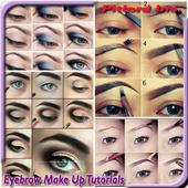eyebrow make up tutorials icon