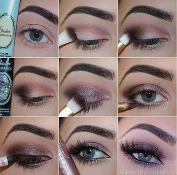 eyebrow make up tutorials apk screenshot