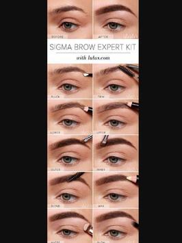 DIY Eyebrow Makeup Tutorial screenshot 1
