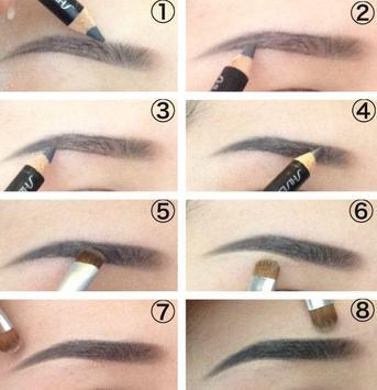 DIY Eyebrow Makeup Tutorial screenshot 2