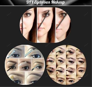 DIY Eyebrows Makeup poster