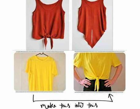 DIY Fashion Clothes Ideas screenshot 3