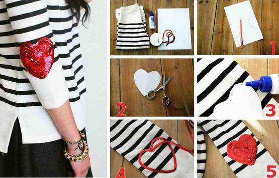 DIY Fashion Clothes Ideas screenshot 5
