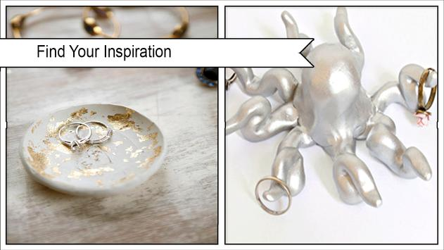 Creative DIY Ring Holder poster