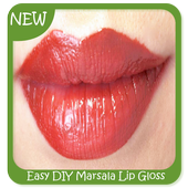 Easy DIY Marsala Lip Gloss icon
