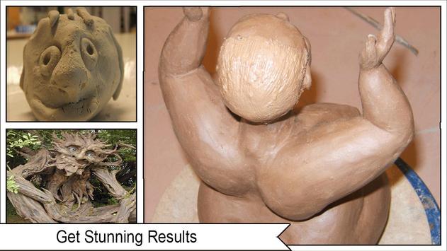 How to Make Clay Sculpture screenshot 3