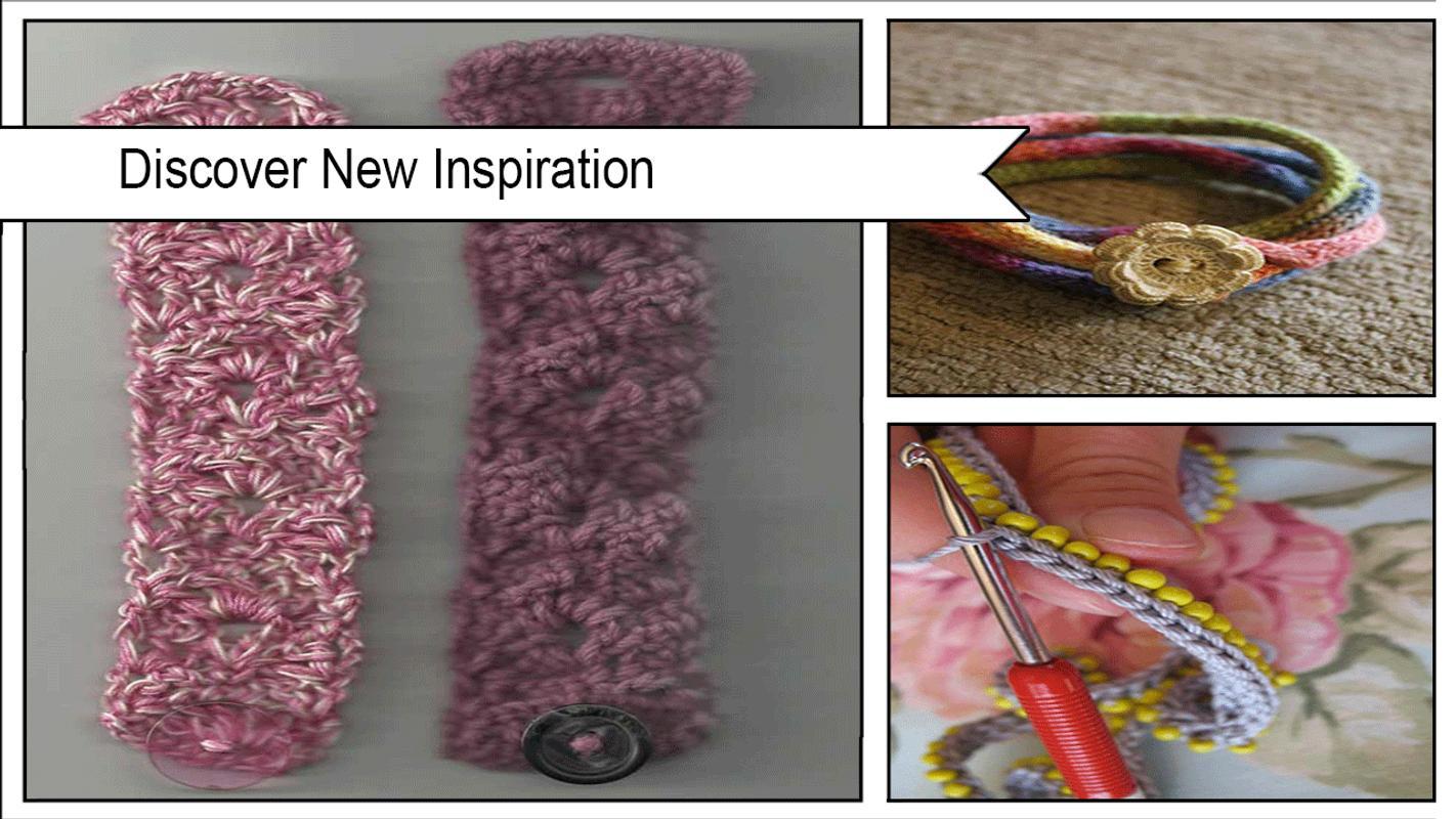 Impresionantes patrones de pulsera de ganchillo Descarga APK ...