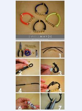 DIY jewelry craft tutorial screenshot 4