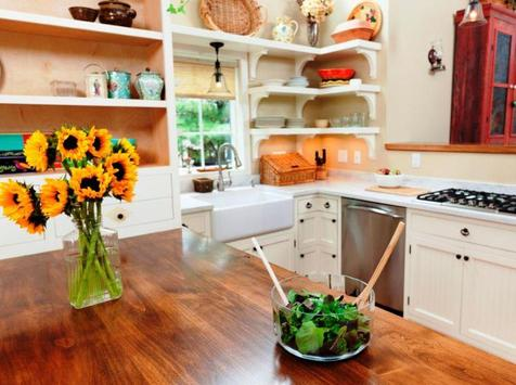diY kitchen designs poster