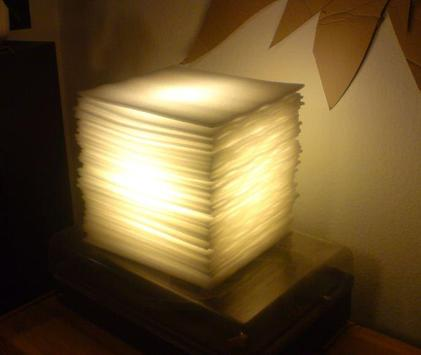 DIY lamp ideas poster