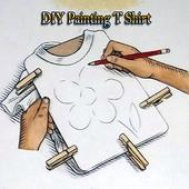 diy painting t shirt icon