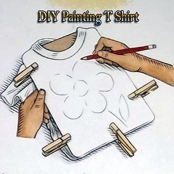 diy painting t shirt poster