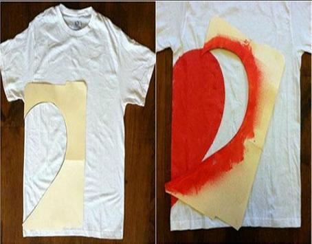 diy painting t shirt screenshot 3