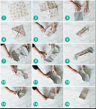DIY paper box poster