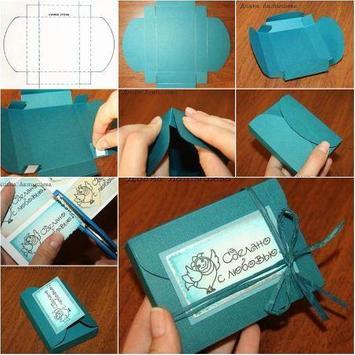 DIY paper box apk screenshot
