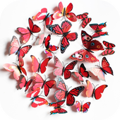 DIY paper butterfly icon