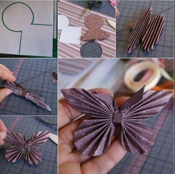 DIY paper butterfly apk screenshot