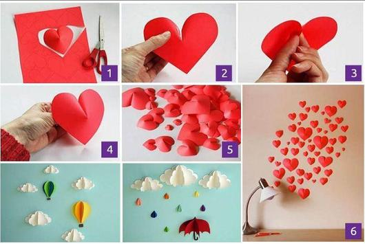 DIY paper decorations poster