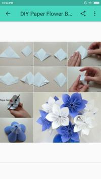DIY Paper Flower Bouquet Best screenshot 2