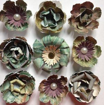 DIY paper flowers screenshot 3