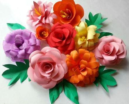 DIY paper flowers screenshot 4