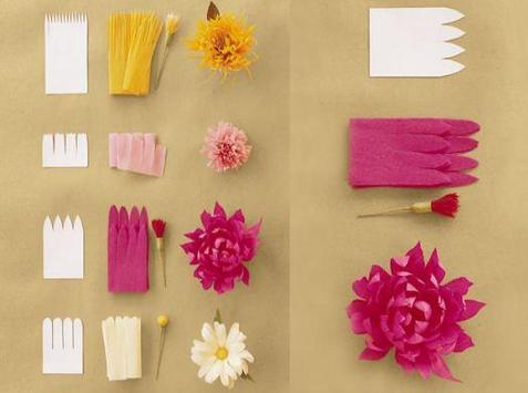 DIY paper flowers screenshot 5