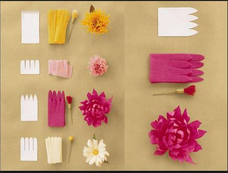 DIY paper flower screenshot 5