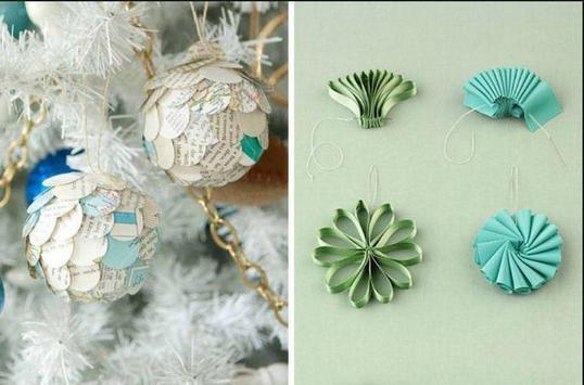 DIY paper ornaments poster