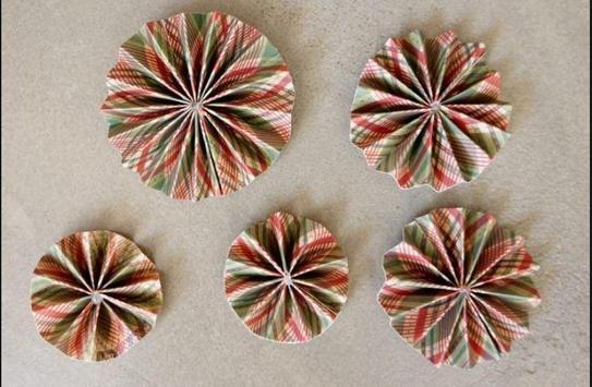 DIY paper ornaments screenshot 1