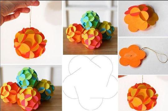 DIY paper ornaments screenshot 4