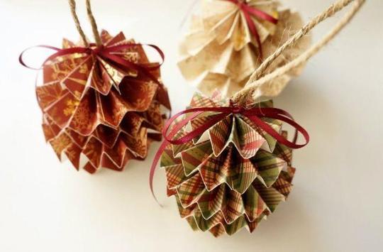 DIY paper ornaments screenshot 5
